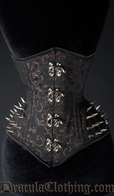 Axinite Extreme Waist Clasp Spike Corset