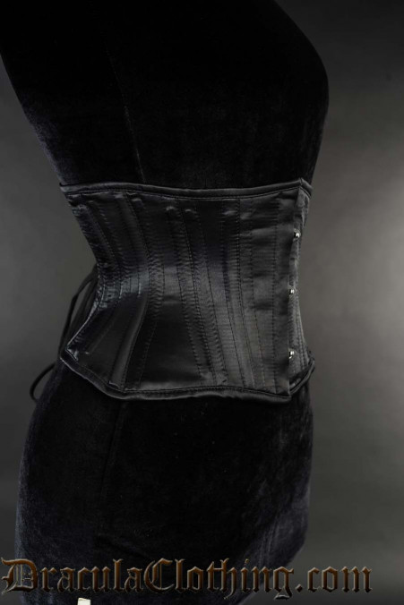 Black Satin Extreme Waist Cincher
