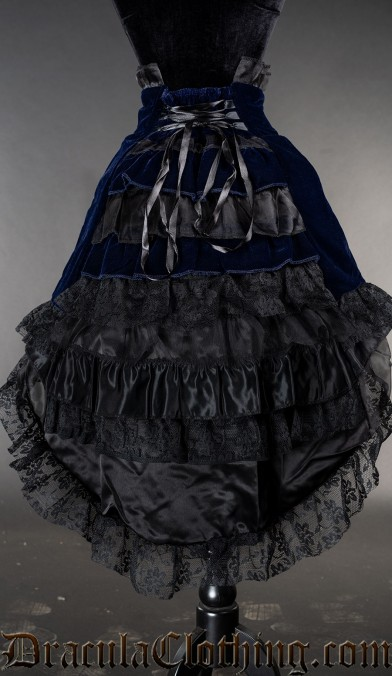 Blue Velvet EGL Skirt