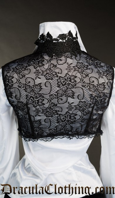 Lace Sleeveless Bolero