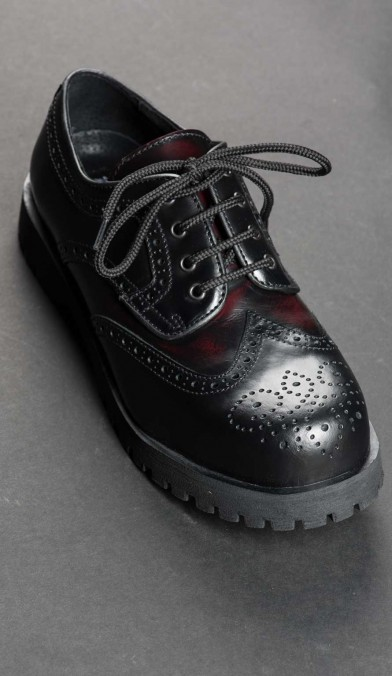 Maroon Capone Shoes