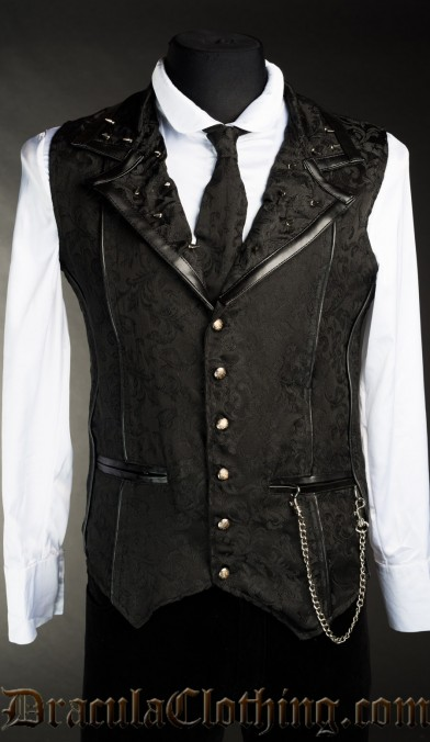 Onyx Spiked Vest