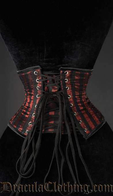 Red Striped Waist Cincher