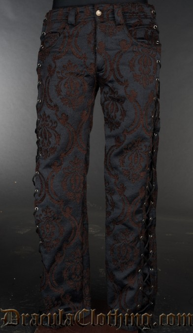 Steampunk Laced Pants