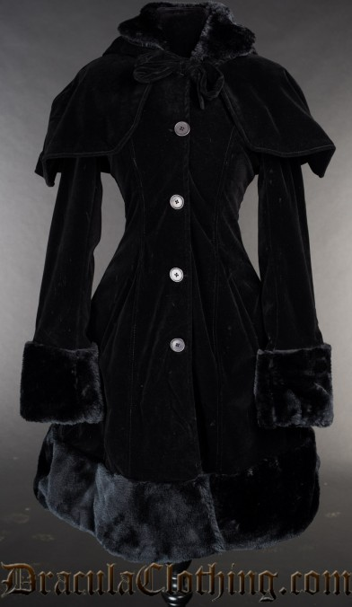 Velvet Thick Winter Coat